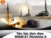 The gioi - MGM-31 Pershing II - Ten lua My tung lam Lien Xo 'mat an mat ngu'