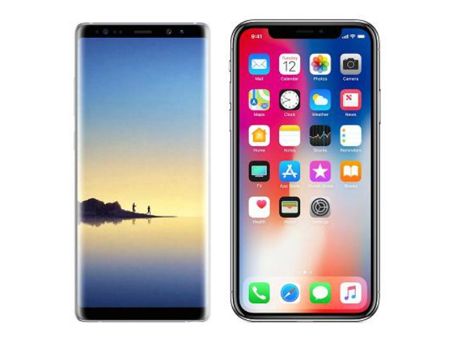 Chon Galaxy Note 8 hay iPhone X?