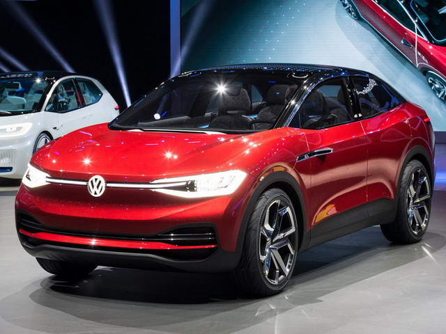 volkswagen i.d.crozz: tuong lai cua suv chay dien hinh anh 1