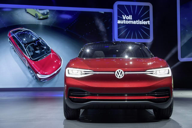 volkswagen i.d.crozz: tuong lai cua suv chay dien hinh anh 2
