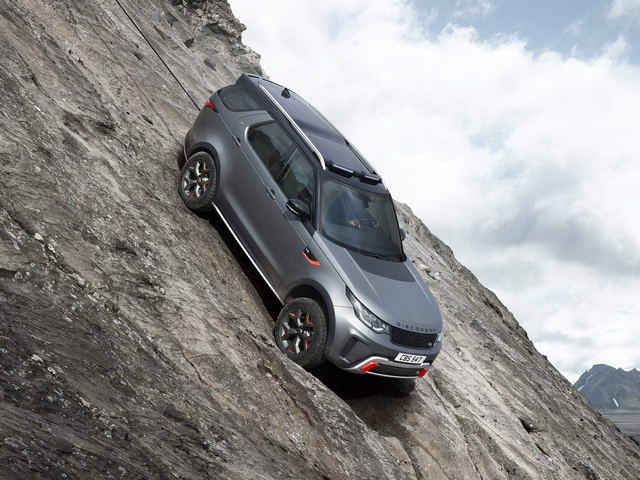 land rover discovery svx: danh cho tin do off-road hinh anh 1
