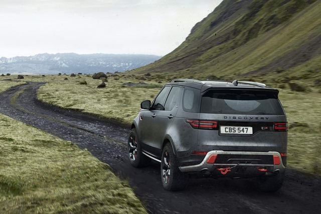 land rover discovery svx: danh cho tin do off-road hinh anh 2