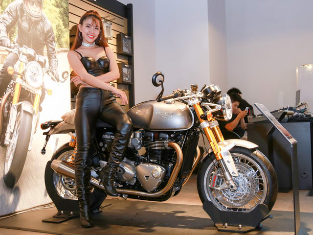 mo to anh quoc triumph motorcycles ra mat viet nam hinh anh 2