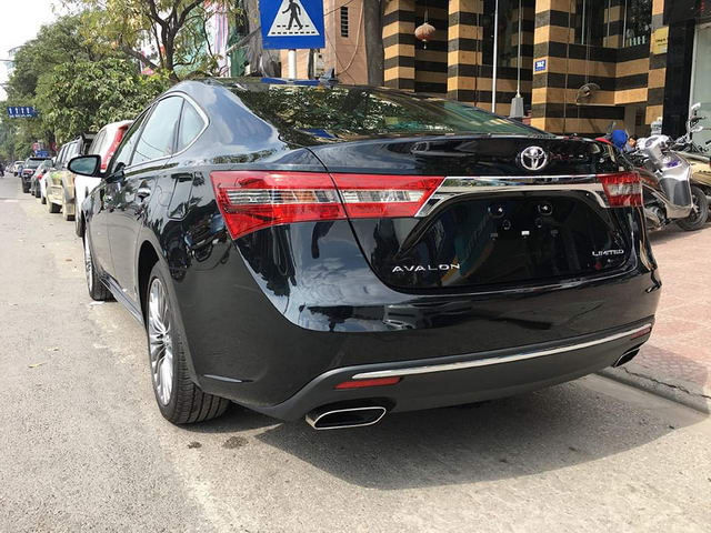 toyota avalon limited sang trong den muc nao? hinh anh 4