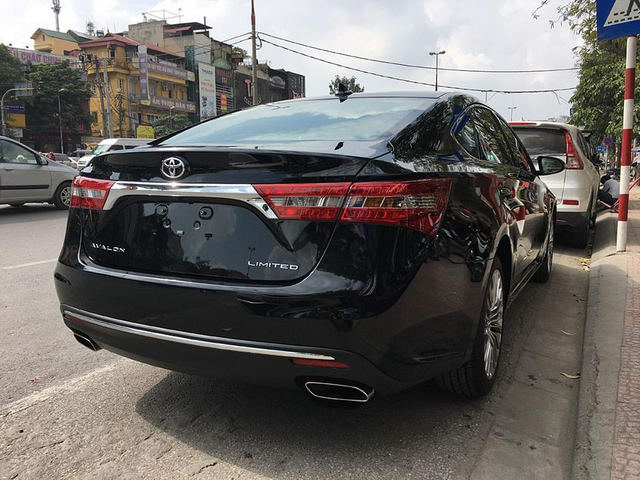 toyota avalon limited sang trong den muc nao? hinh anh 15