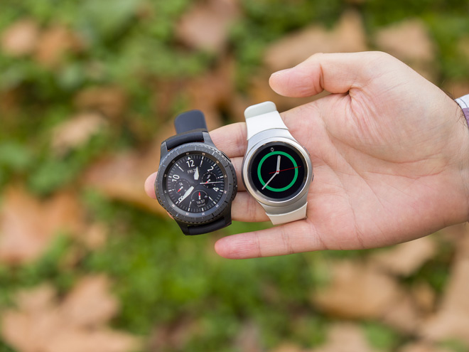 "samsung gear s4 ""dang den"", apple watch hay doi day! hinh anh 1"