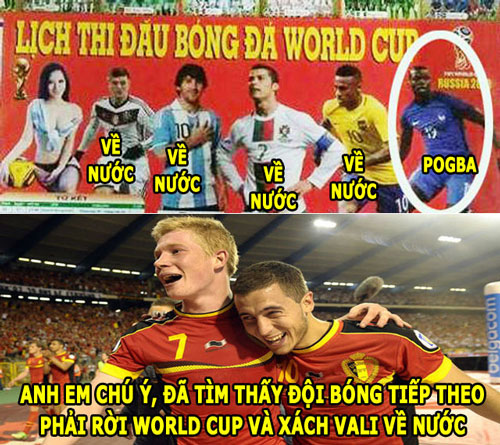 anh che world cup (10.7): to lich 'tien tri' phap se thua bi hinh anh 5