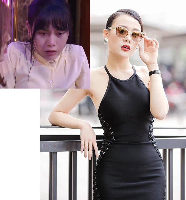 "phong cach doi thuong cung rat sexy cua quynh ""bup be"", lan ""gia"", my ""soi"" hinh anh 4"