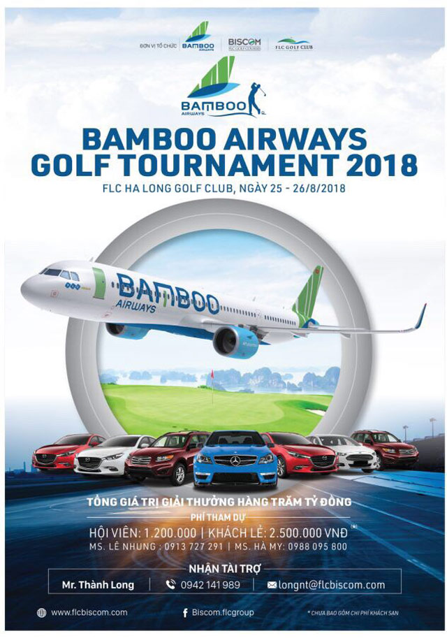 bamboo airways golf tournament 2018 lan dau duoc to chuc tai flc ha long golf club hinh anh 4