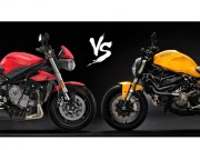 o to - Xe may - Nen chon Triumph Street Triple S hay Ducati Monster 821?