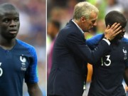 The thao - Tin nhanh World Cup 2018 (17.7): Soc truoc ly do Kante bi HLV Deschamps thay som