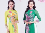 dep - Thi sinh Hoa hau Viet Nam (mien Bac) mac ao dai thanh lich
