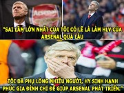 aNH CHe BoNG da (18.7): Wenger tiet lo su that gay soc o Arsenal