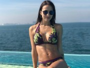 anh - Video - Than hinh nong bong cua nang WAGs vua cap ben Premier League