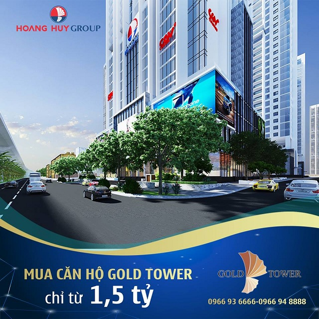 "du an gold tower dat tien do thi cong ""than toc"" hinh anh 2"