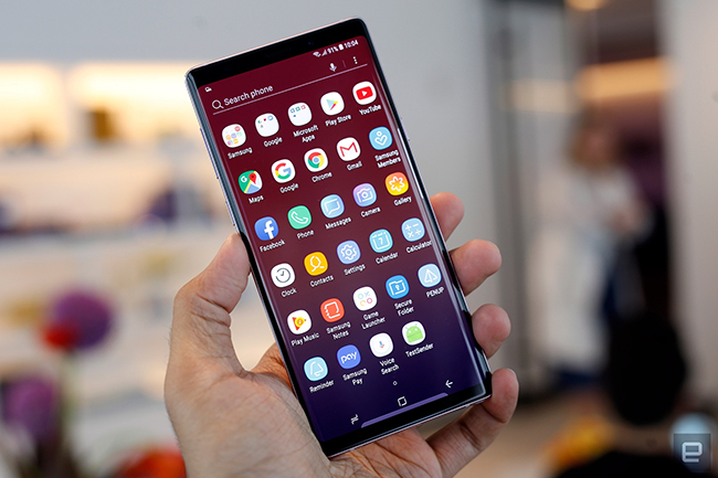"anh thuc te samsung galaxy note9 voi but s pen ""than thanh"" hinh anh 12"