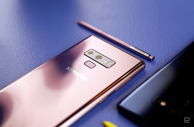 "anh thuc te samsung galaxy note9 voi but s pen ""than thanh"" hinh anh 13"