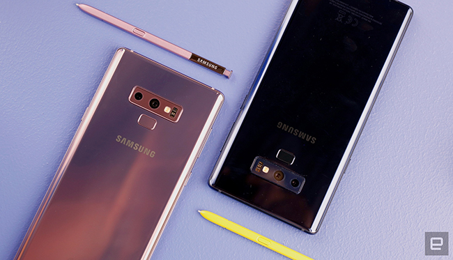 "anh thuc te samsung galaxy note9 voi but s pen ""than thanh"" hinh anh 4"