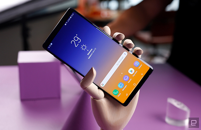 "anh thuc te samsung galaxy note9 voi but s pen ""than thanh"" hinh anh 5"