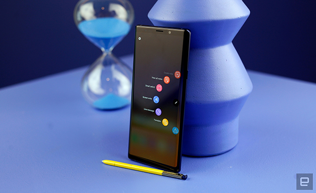 "anh thuc te samsung galaxy note9 voi but s pen ""than thanh"" hinh anh 6"