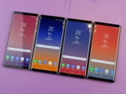 Samsung tu tin ve doanh so ban hang Galaxy Note 9