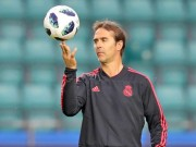 The thao - HLV Lopetegui lap cot moc dang ho then cung Real Madrid