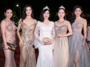 HOT showbiz: Cac hoa hau long lay hoi tu trong dem Gala 30 nam HHVN