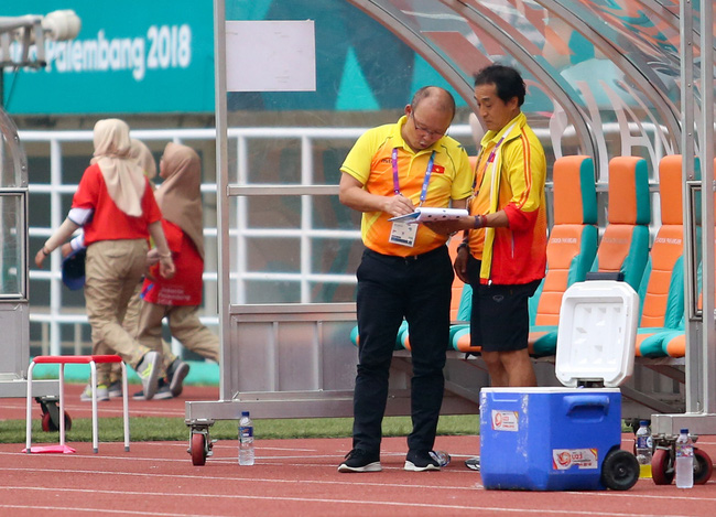"""thay park: """"toi khong muon da penalty voi olympic uae, met moi lam"""" hinh anh 2"""