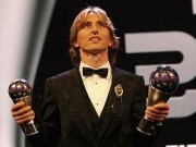 Gianh giai The Best 2018, Modric them mot lan vuot mat Ronaldo, Messi