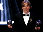 The thao - Gianh giai The Best day thuyet phuc, vi sao Modric van cam thay.. buon?