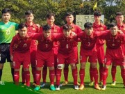 "The thao - Tran U16 Viet Nam vs U16 Iran bat ngo… ""co bien"""
