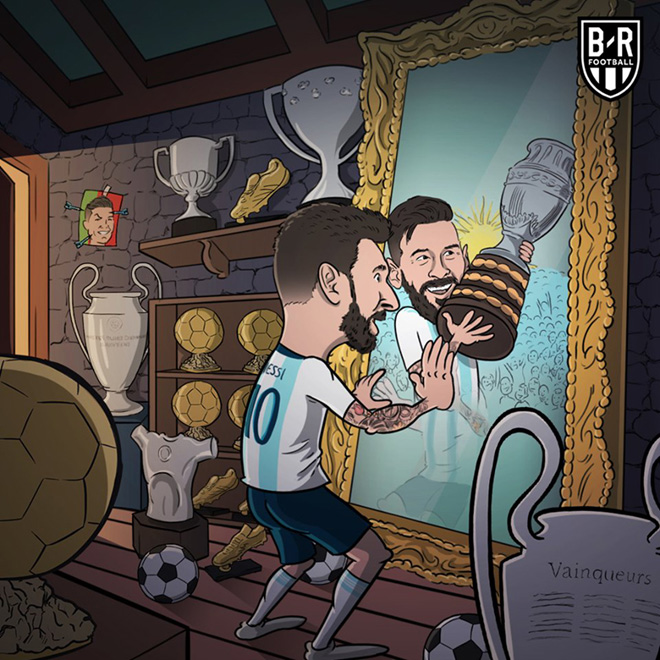 """fan bong da che anh """"hay trao cho messi"""" chiec cup copa america hinh anh 3"""