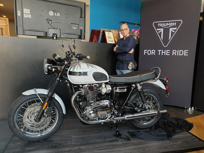 "2019 triumph boneville t120 ace and diamond edition ""do bo"" dong nam a, hut phai manh hinh anh 5"