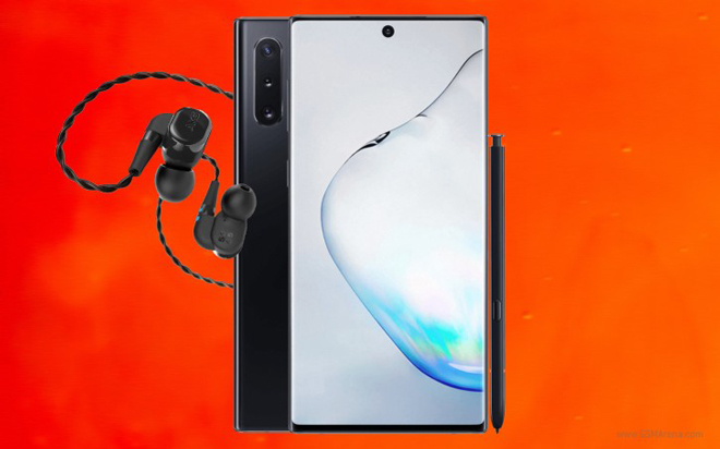 """galaxy note 10 se """"len co"""" voi tai nghe khu tieng on day dang cap hinh anh 1"""