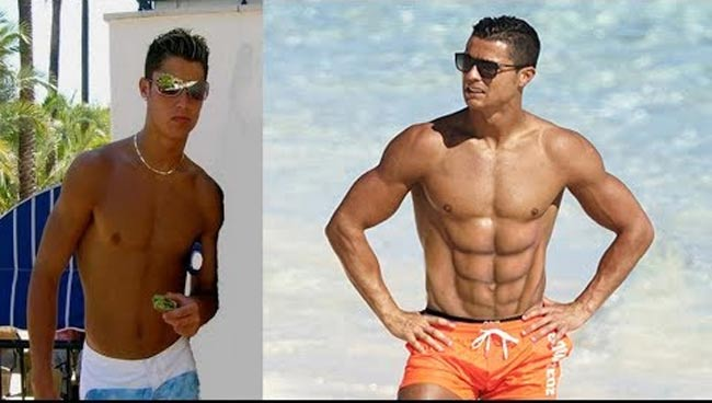 cr7 va the rock co than hinh do so nhu cac vi than hinh anh 4