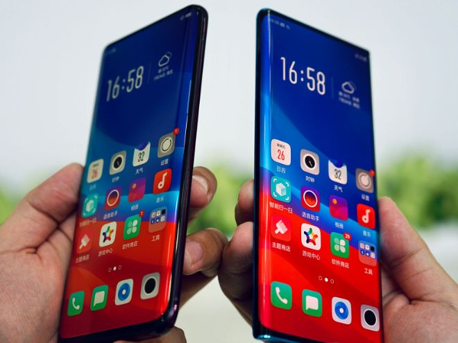 oppo pho dien smartphone man hinh thac nuoc dep mien che hinh anh 3