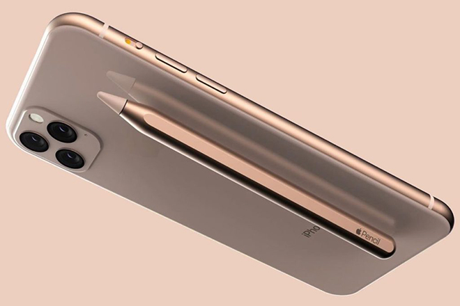 y tuong iphone 11 voi but stylus - galaxy note10 hay doi day hinh anh 1