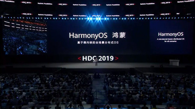huawei chinh thuc cong bo he dieu hanh harmonyos thay the android hinh anh 2