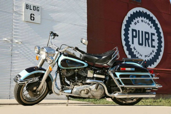 soc: 1976 harley-davidson flh 1200 electra glide gia 46,4 ty dong hinh anh 1