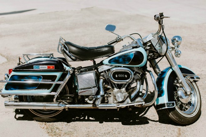 soc: 1976 harley-davidson flh 1200 electra glide gia 46,4 ty dong hinh anh 2