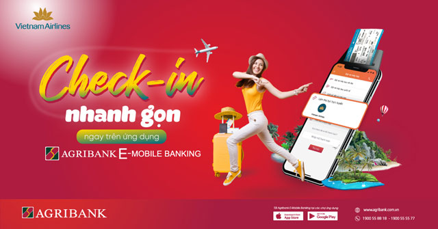 check-in truc tuyen trong mot not nhac voi agribank e-mobile banking hinh anh 1