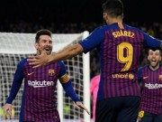 The thao - dau Real Betis, Barcelona gap tin du tu Suarez va Messi