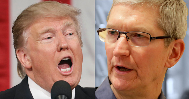 tong thong trump than thiet voi ceo apple tim cook co nao? hinh anh 2