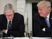 Tong thong Trump than thiet voi CEO Apple Tim Cook co nao?