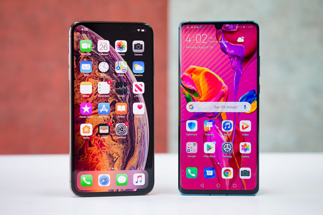 so nhanh iphone xs max va huawei p30 pro hinh anh 13