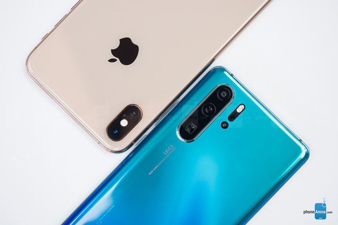 so nhanh iphone xs max va huawei p30 pro hinh anh 5