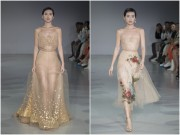 Khanh Linh lam vedette show Tran Hung tai London Fashion Week
