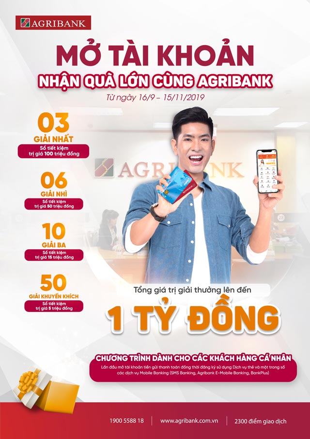 giao dich nhanh – trung thuong lon cung agribank hinh anh 1