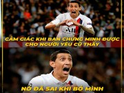 """Lang cuoi - anh che: Di Maria """"len dong"""" huy diet doi bong cu Real Madrid"""