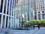 Cung chiem nguong ve dep long lay Apple Store  & quot;so 1 & quot; tai New York